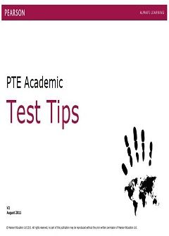 PTE Academic Test Tips